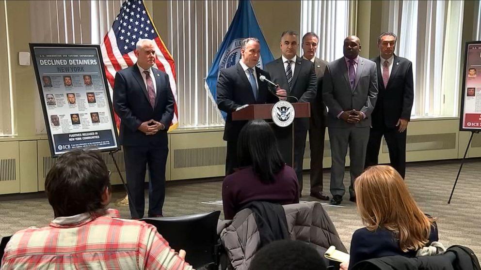 Acting ICE director slams New York City's sanctuary city policy
