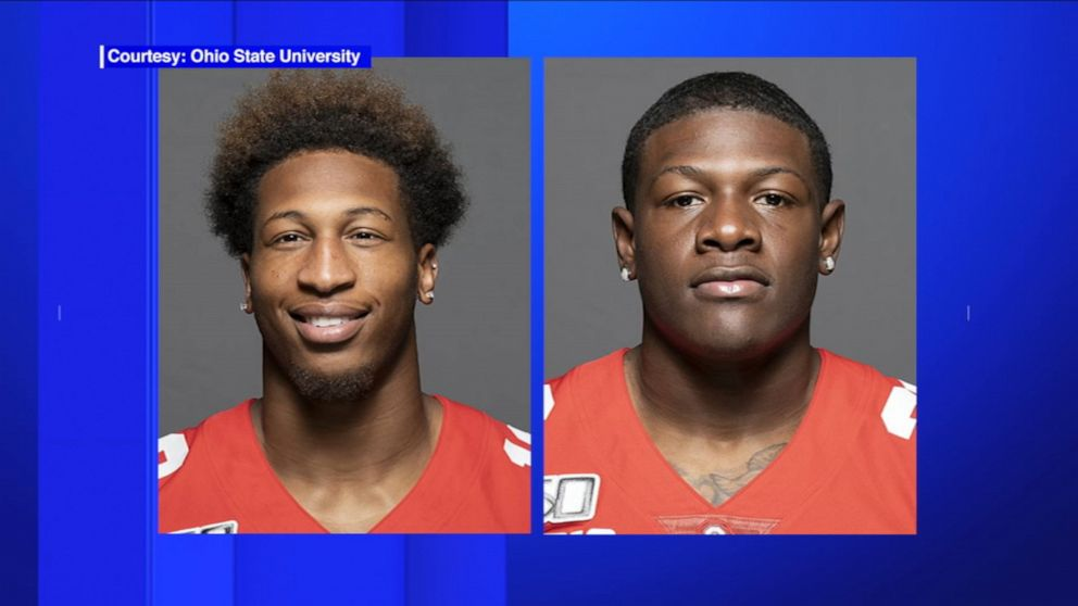 2 Ohio State Football Players Charged With Rape Kidnapping Abc News