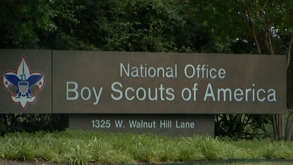 The Boy Scouts of America files for bankruptcy amidst sexual harassment allegations
