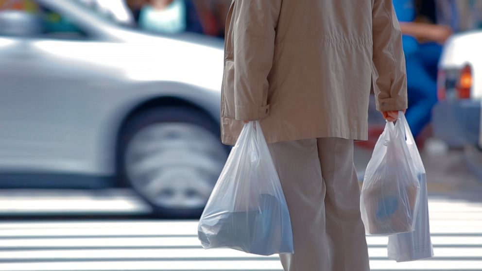 Plastic bag bans become law in parts of the country