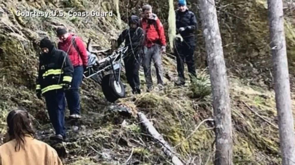 Trail runner breaks leg, crawls for more than 10 hours to reach rescuers