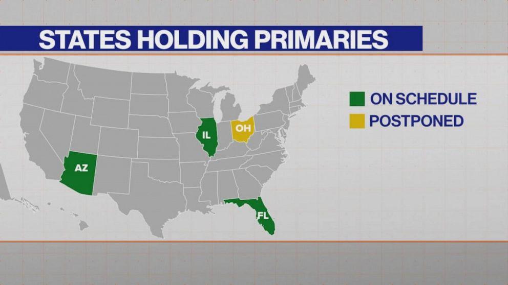 Dewine Indicates Ohio Will Postpone Primary Voting Amid Covid 19 Concerns Despite Judge S Order Abc News
