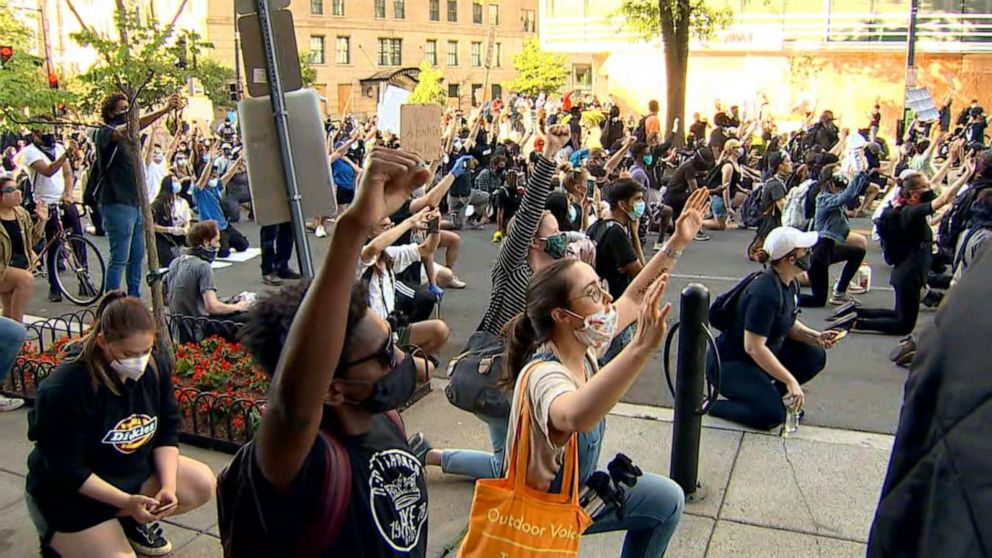 Inside The Protest What Peaceful George Floyd Protesters Are Feeling Now Video Abc News