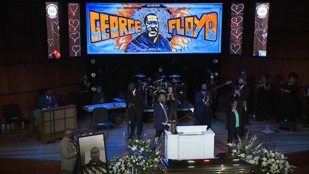 Mourners Remember George Floyd Video Abc News