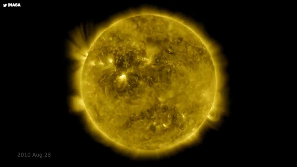 NASA shares 10-year time-lapse video of sun