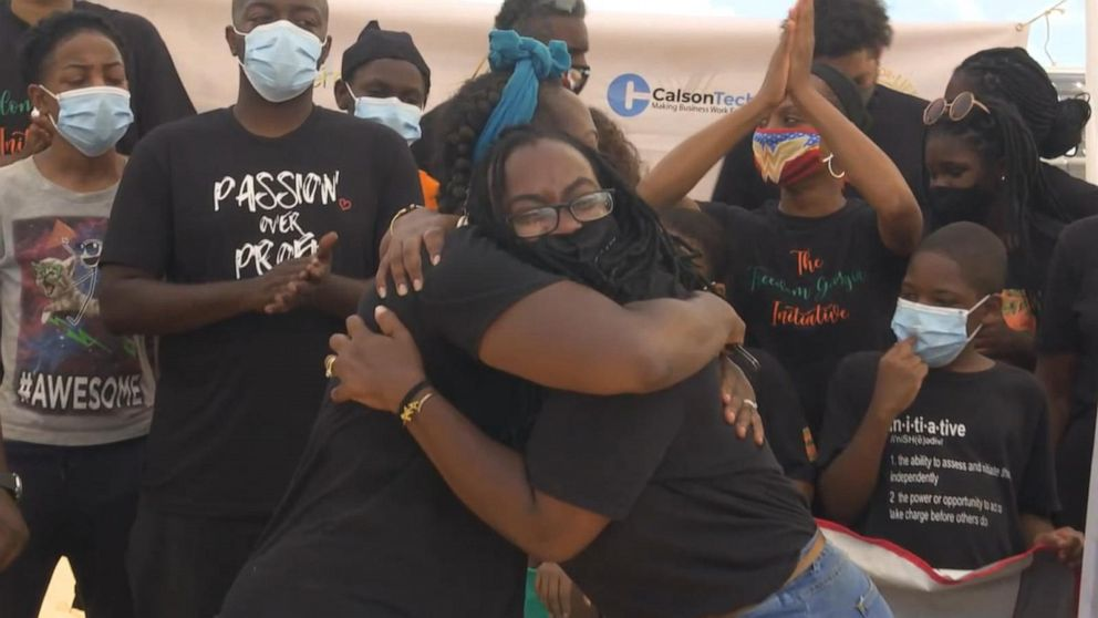 Black Americans create safe havens from racism Video - ABC ...