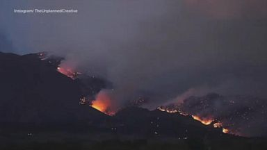 VIDEO: Fires continue to scorch thousands of acres out West