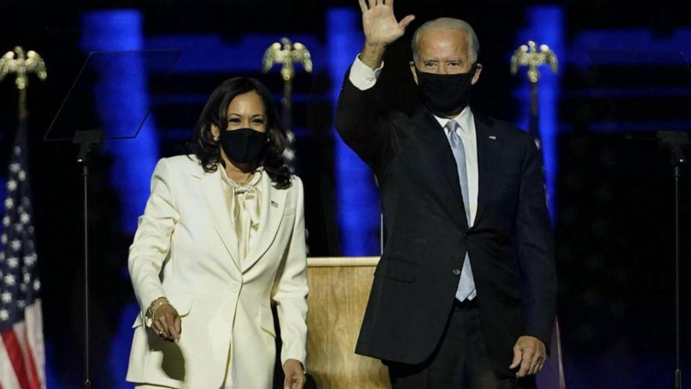 Abc News Live Update Joe Biden And Kamala Harris Celebrate Apparent Election Win Video Abc News