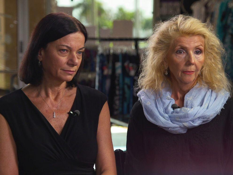 PHOTO: Deborah Offord and Barbara Castricone ran a costume shop in town when Marlene Warren was murdered.