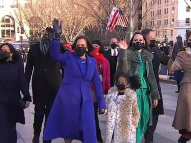 WATCH:  Vice President Kamala Harris takes her walk to the White House