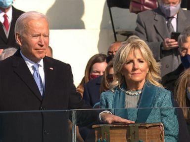 WATCH:  Joseph R. Biden sworn in as 46th president