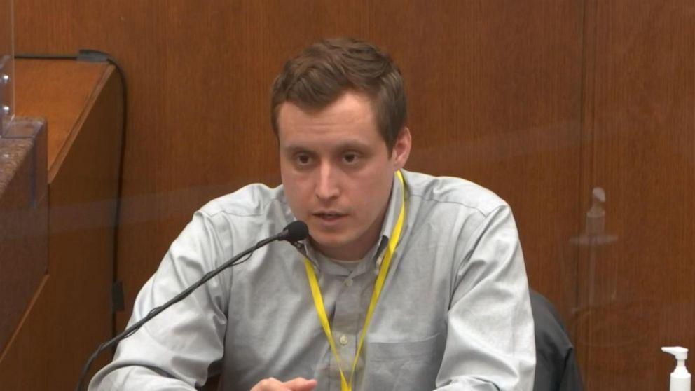 Dr. Bradford Langenfeld testifies at Derek Chauvin trial