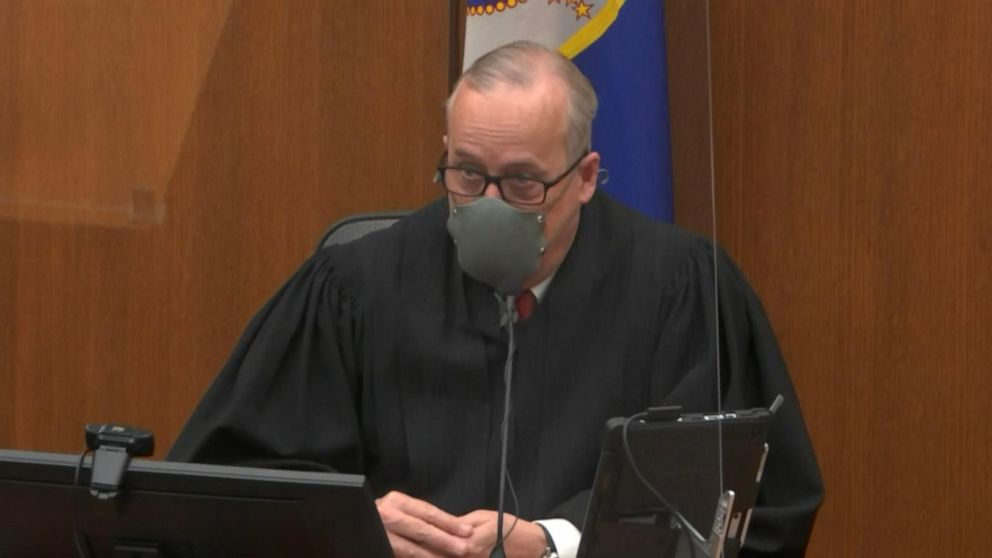 Opening moments of Day 6 of Derek Chauvin trial