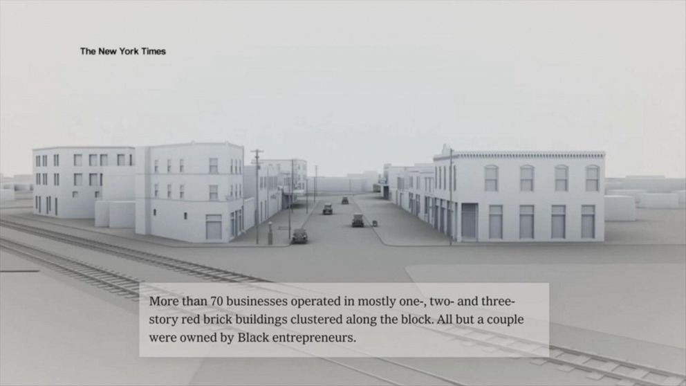 How journalists reconstructed 'Black Wall Street' online 100 years later