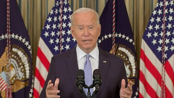 Video ABC News Live: President Biden urges unvaccinated Americans to get their shots