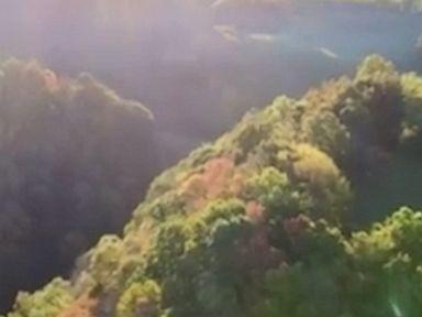 WATCH:  Sunlight illuminates landscape in Virginia