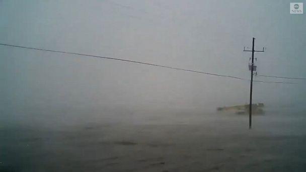 Video Hurricane Ida's storm surge inundates Louisiana Gulf Coast