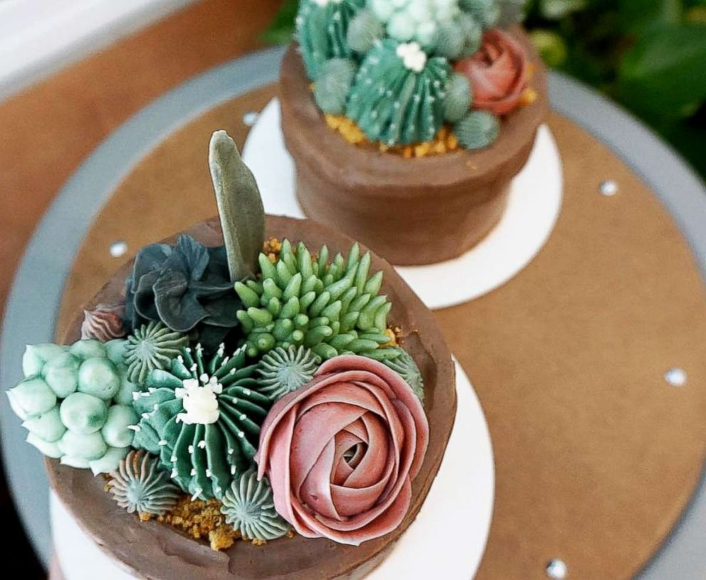 PHOTO: Brooklyn Floral Delight makes cakes that look just like plants.