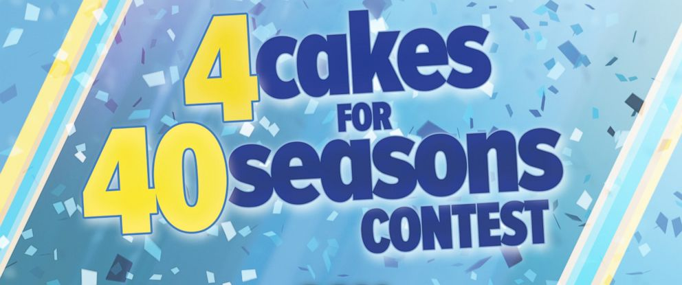 PHOTO: 4 cakes for 40 Seasons Contest