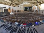 Over 550 guns seized from home of convicted felon