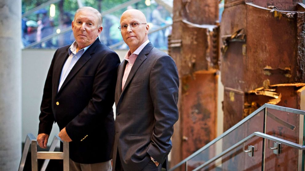 Jeff Flynn and John Mormando worked in lower Manhattan in the wake of the September 11 World Trade Center attacks in 2001 and they have both been diagnosed with breast cancer.