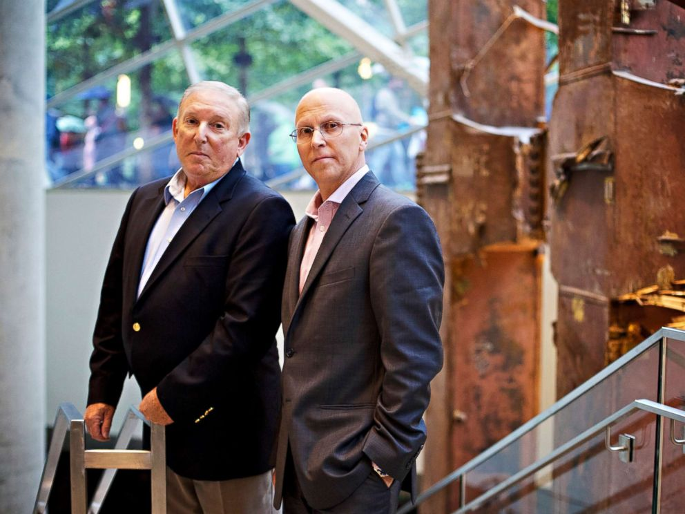 PHOTO: Jeff Flynn and John Mormando worked in lower Manhattan in the wake of the September 11 World Trade Center attacks in 2001 and they have both been diagnosed with breast cancer.