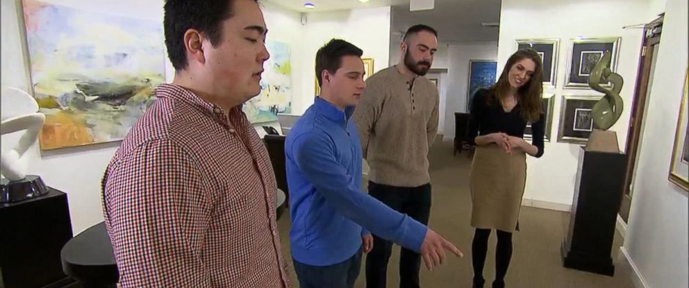 PHOTO: Three Boston University students are credited with stopping an alleged robbery at a Boston art gallery.