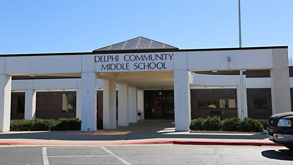 Delphi Community Middle School in Delphi, Indiana.