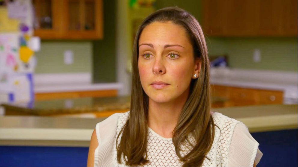 """Kaitlin Hill speaks out in an interview with """"Good Morning America"""" after her 3-year-old son broke his femur bone at a local trampoline park."""