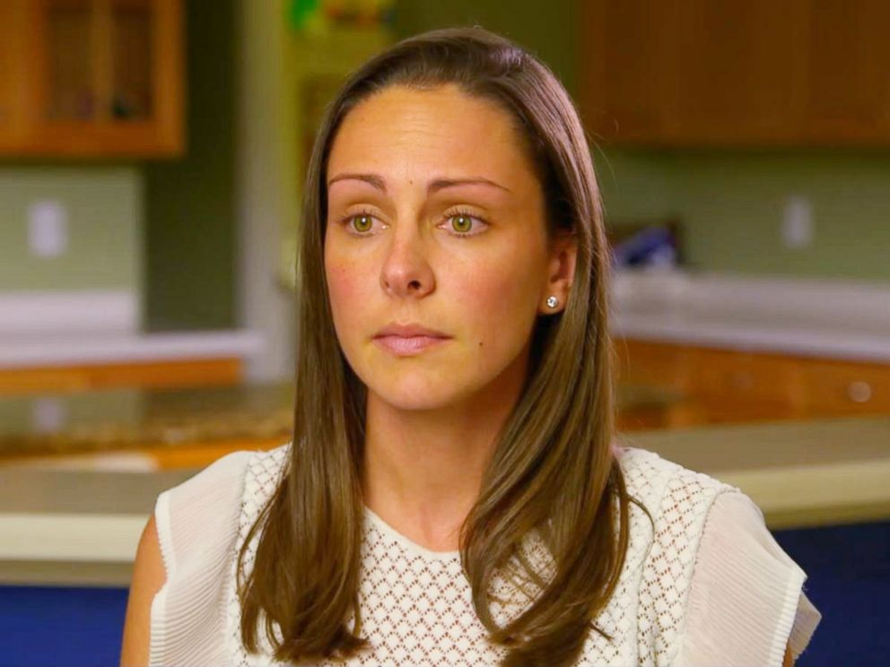 PHOTO: Kaitlin Hill speaks out in an interview with Good Morning America after her 3-year-old son broke his femur bone at a local trampoline park.