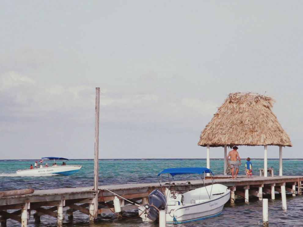 PHOTO: John McAfees home in Belize, Ambergris Caye, is pictured here.