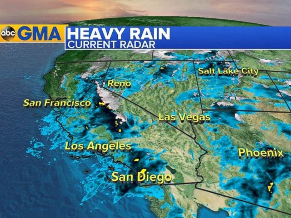 Us Weather Map California Lol