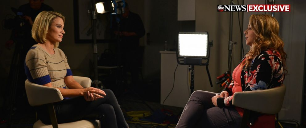 "PHOTO: Leanna Taylor sat down for an exclusive interview with ABCs Amy Robach for ""Good Morning America"" and ""20/20."""