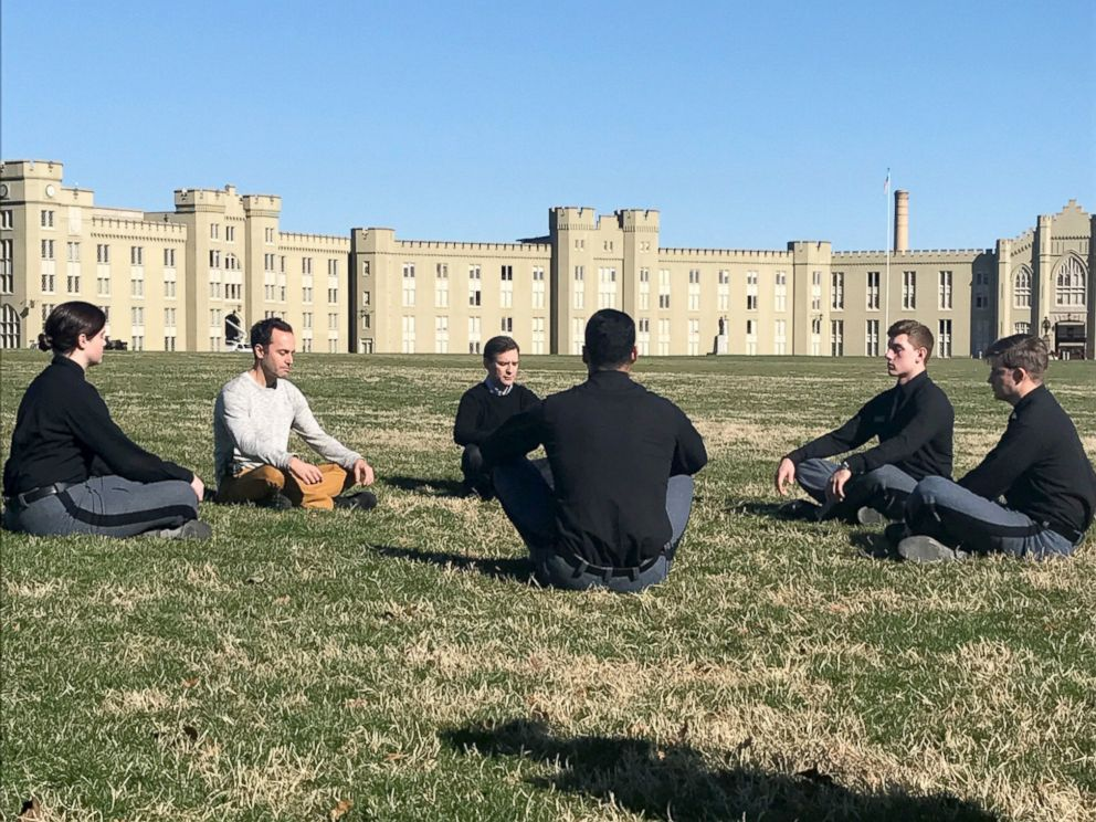 Military college professors teach cadets meditation to help them be effective warriors