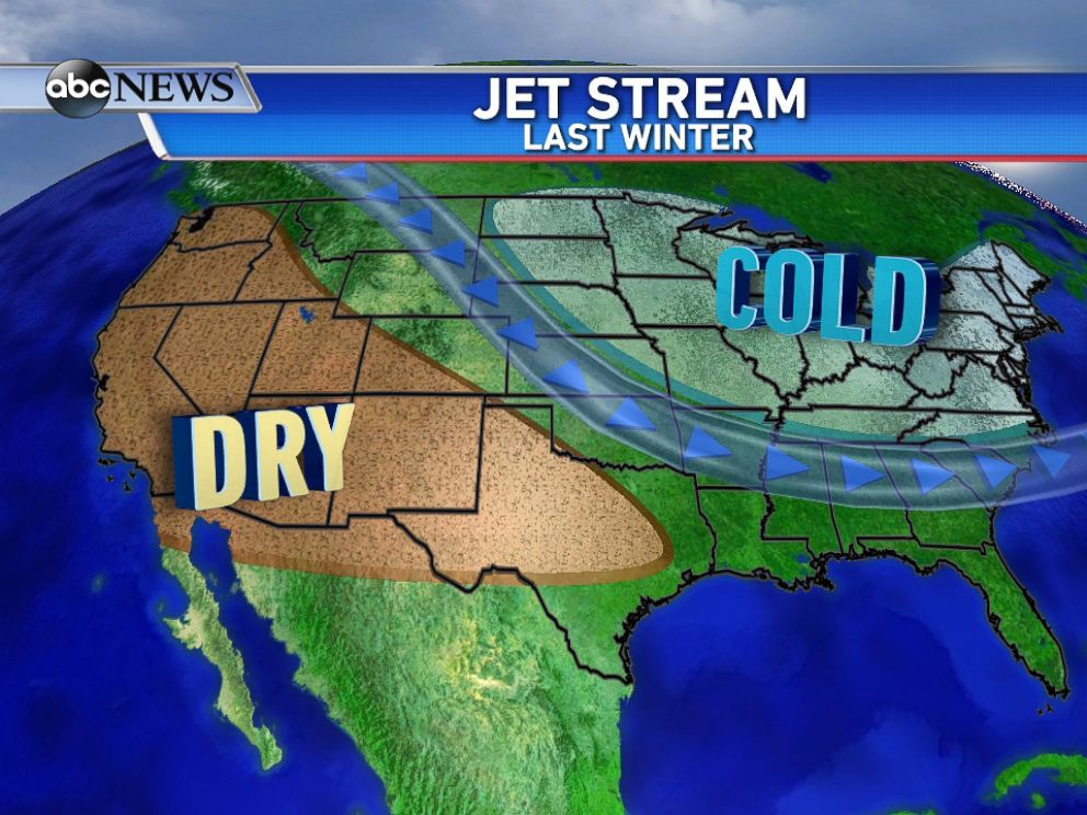 PHOTO: Weather conditions around the country last winter, and the past few years.