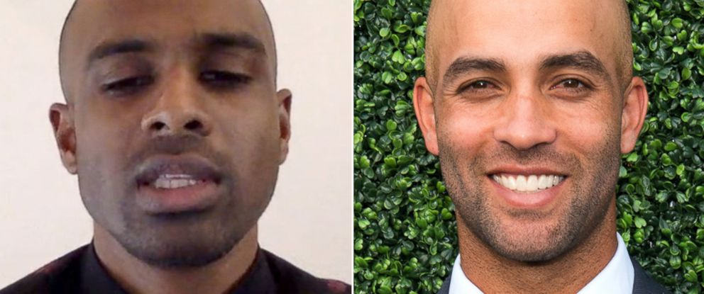 PHOTO: Sean Satha, left, and James Blake were both mistaken as a suspect by the NYPD in a credit card fraud case.