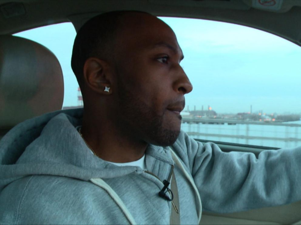 PHOTO: Officer Graham makes the drive across the bridge to Rikers Island, where he works.