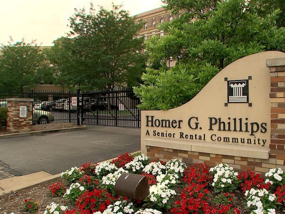 Today, the former Homer G. Phillips hospital is now a senior residential community.