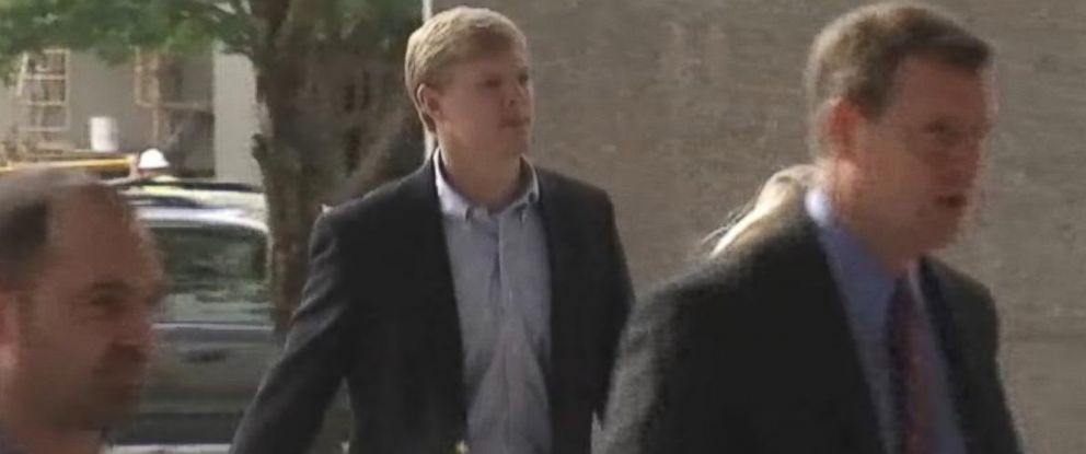 PHOTO: Former University of North Carolina football player Kenan Gay is on trial for second-degree murder in the March 2012 death of Robert Kingston, 30.