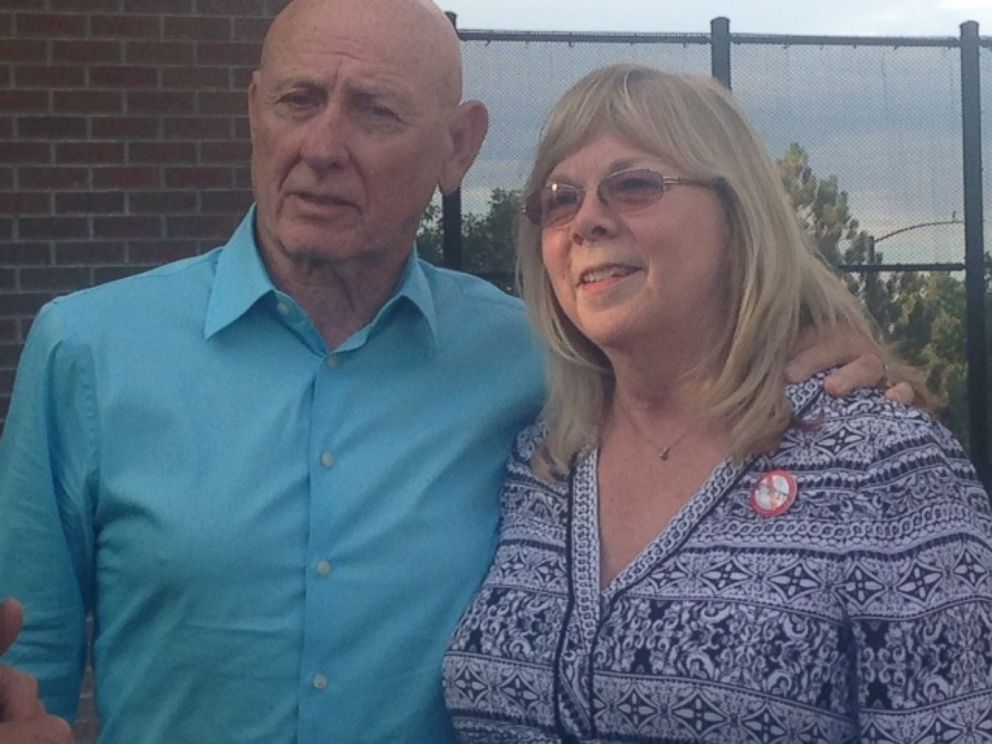 PHOTO: Lonnie and Sandy Phillips are the parents of Jessica Ghawi, who was killed in the Aurora, Colorado, movie theater shooting on July 20, 2012. The gunman, James Holmes, was convicted of all 165 charges he faced on July 16, 2015.