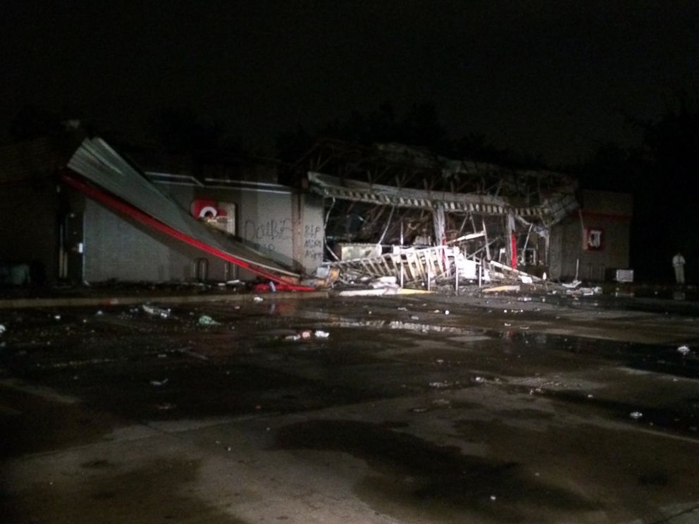 PHOTO: A QuikTrip convenience store was destroyed by a fire during protests and looting in Ferguson, Mo., Aug. 11, 2014.