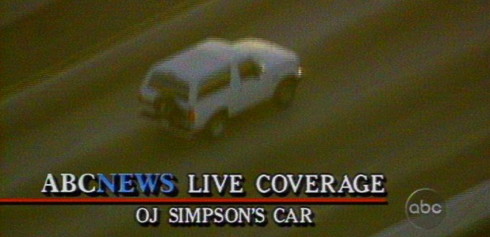 VIDEO: O.J. Simpson was involved in a slow-speed chase with police after being charged with two counts of murder.