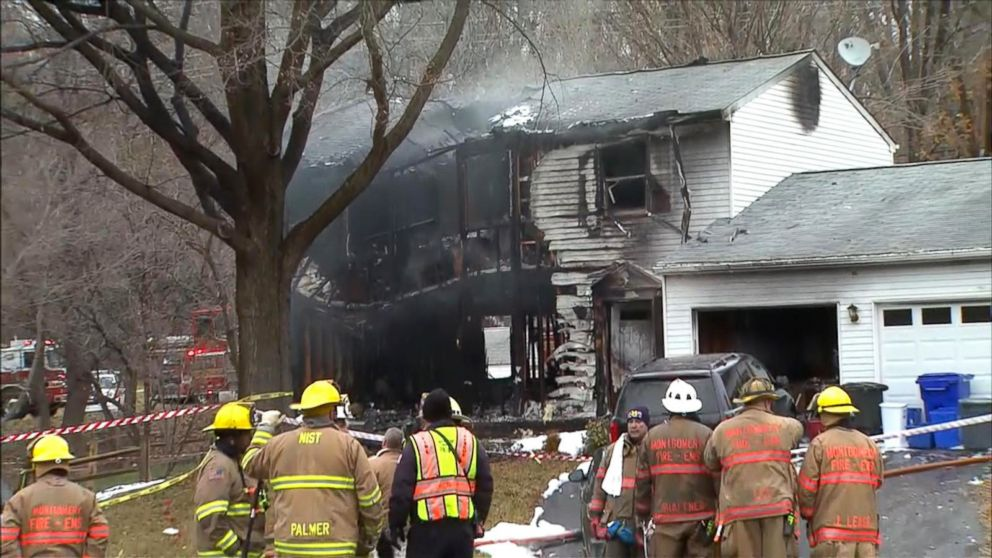 Plane Crashes Into Maryland Home, Killing Family and 3