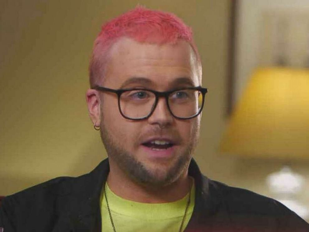 PHOTO: Cambridge Analytica whistle-blower Christopher Wylie speaks in an interview with ABC News.