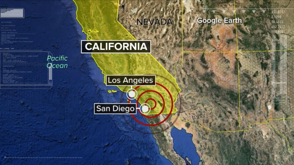 5 2 magnitude earthquake rattles southern california felt in los angeles san diego abc news