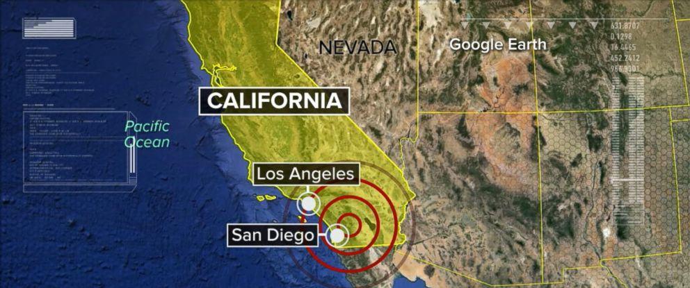 Recent Earthquakes Near San Diego, California, United States