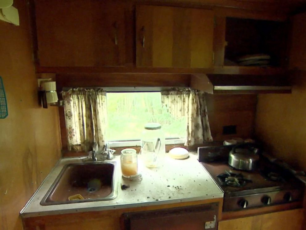 PHOTO: ABC News gets a look at a previously unknown camper that Richard Matt was confirmed to have spent time in while on the run