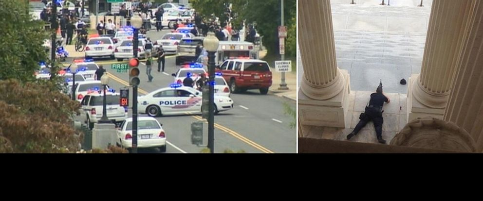 PHOTO: U.S. Capitol is on lock down after reports of shots fired,