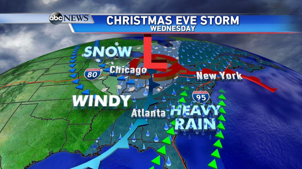 Christmas Forecast: Stormy Week to Bring Severe Weather and ...