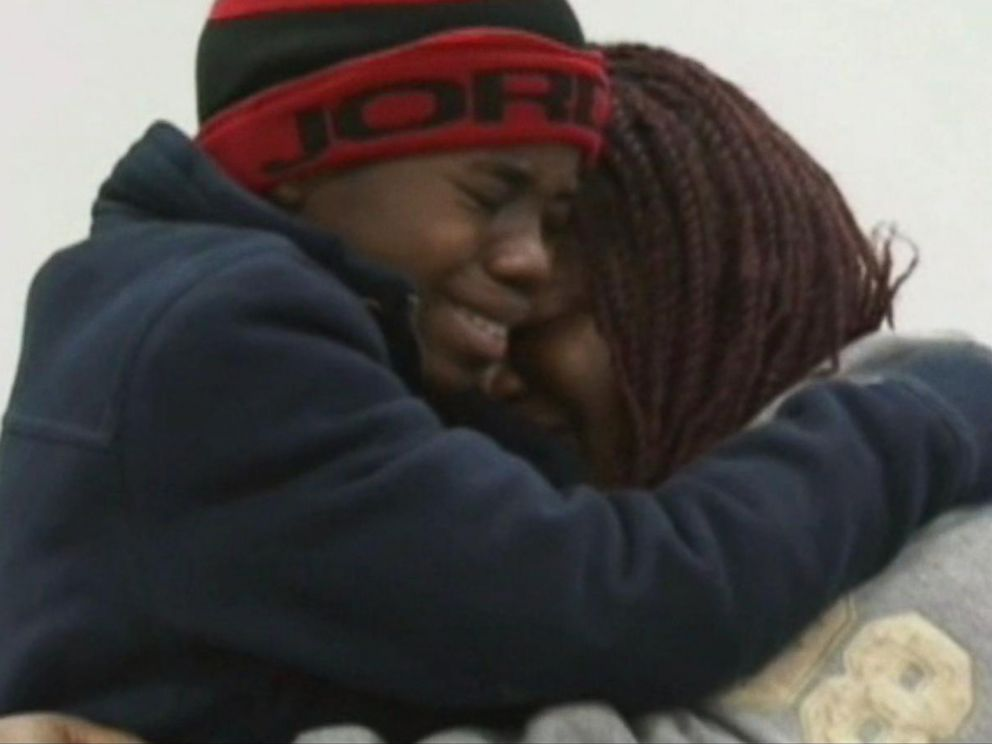 PHOTO: A boy, who was reported missing four years ago and hasnt been identified by police, reunited with his mother on Saturday, Nov. 29, 2014.